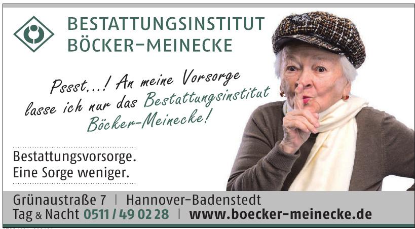 Bestattungsinstitut Böcker-Meinecke
