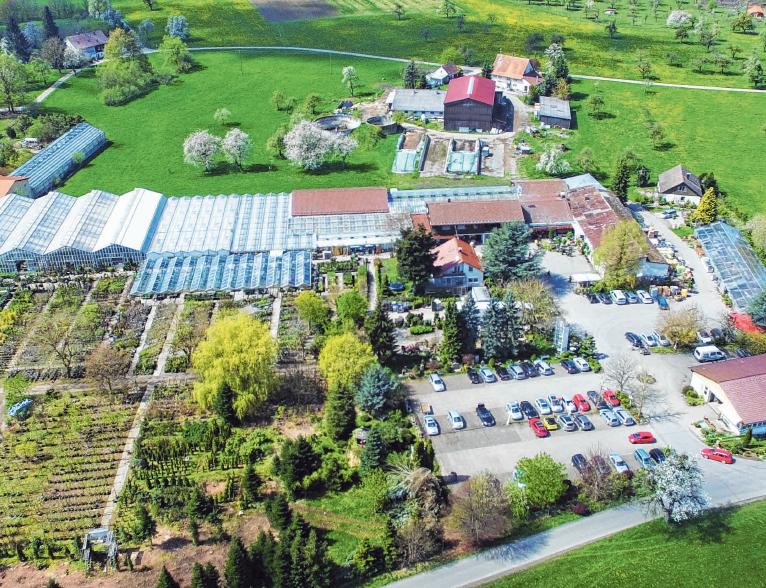 <div>Gartencenter Fleischer in Grünkraut-Liebenhofen.</div>