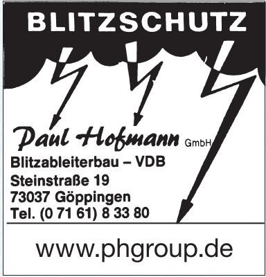 Paul Hofmann GmbH