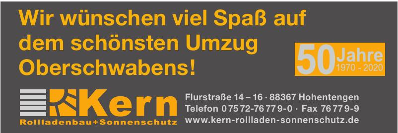 Kern Rollladenbau + Sonnenschutz GmbH