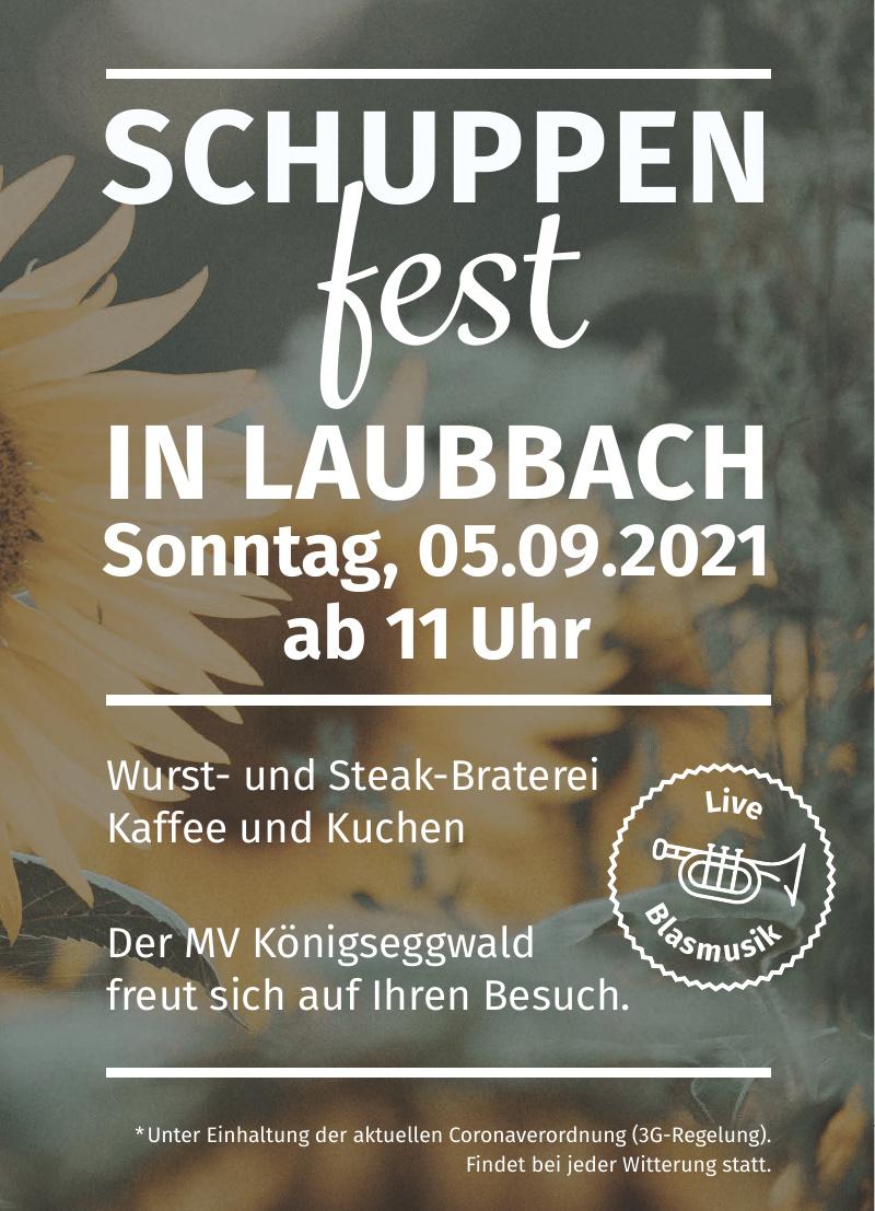 Schuppen Fest