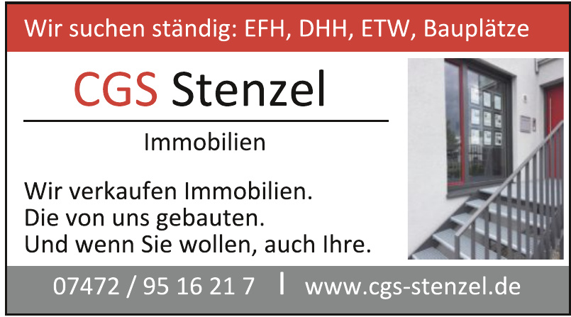 CGS Stenzel Immobilien