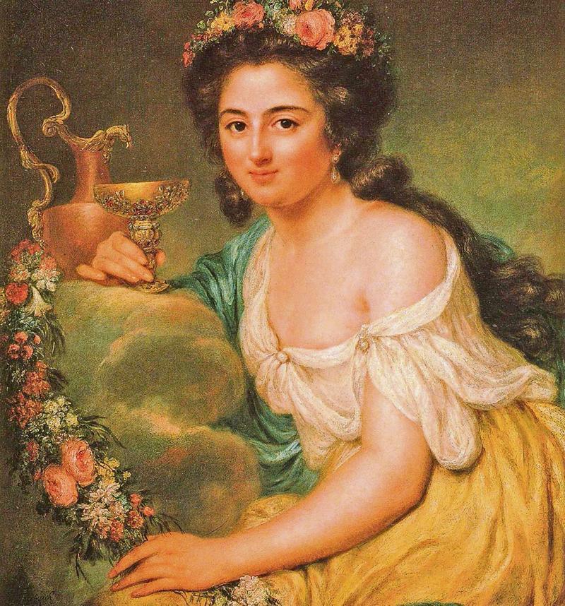 Strahlend schön. Die Malerin Anna Dorothea Therbusch porträtierte Henriette Herz im Jahr 1778 als Hebe, die griechische Göttin der Jugend. Henriette Herz gilt als die erste Berliner jüdische Salonière.