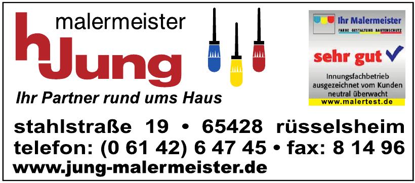 Malermeister H. Jung