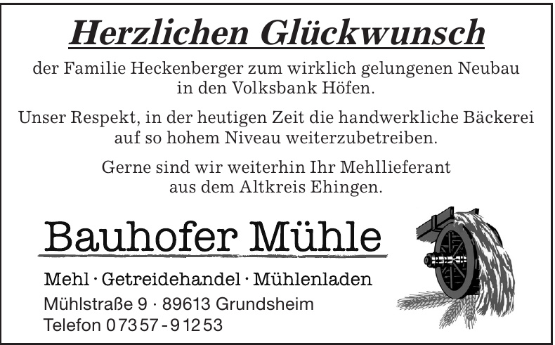 Bauhofer Mühle
