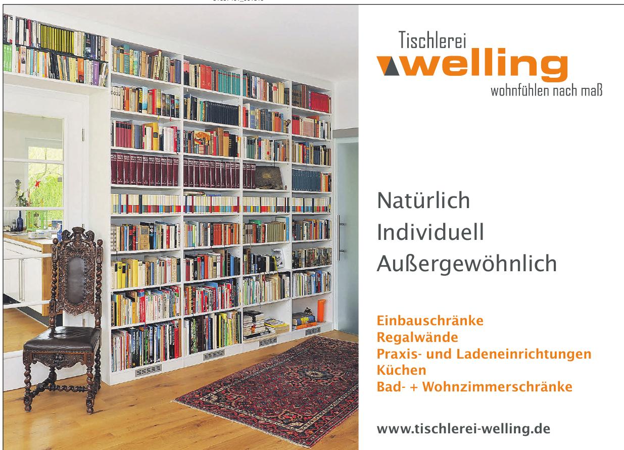 Tischlerei Welling GmbH