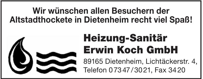 Heizung - Sanitär Erwin Koch GmbH