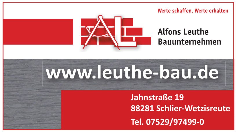 Alfons Leuthe GmbH & Co. KG Bauunternehmen