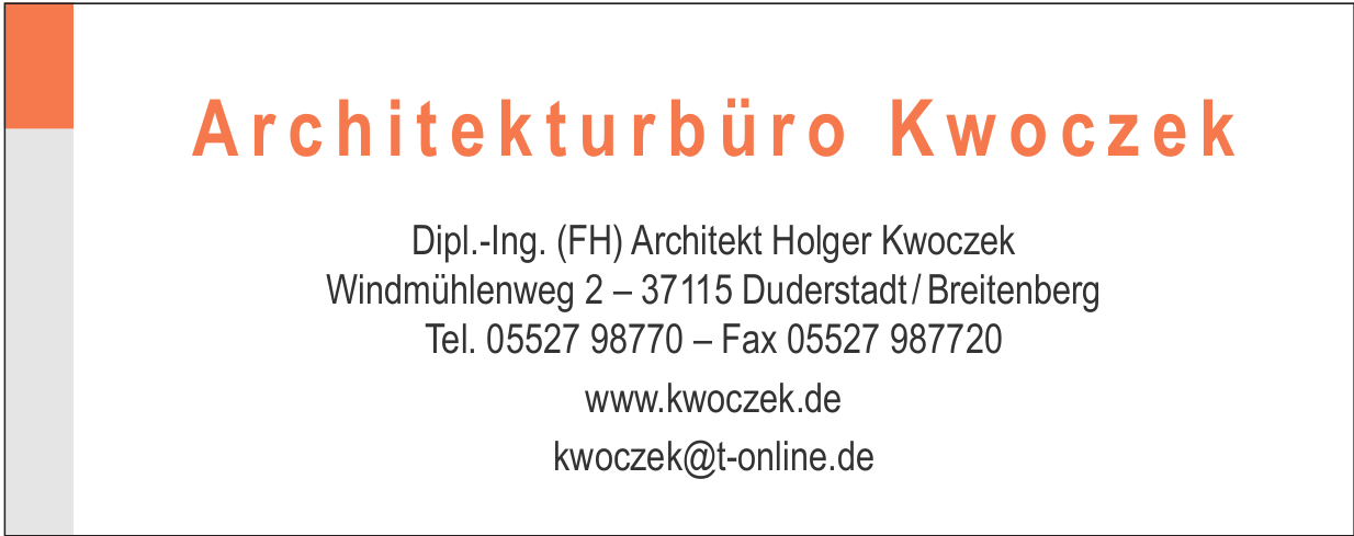 Architekturbüro Kwoczek
