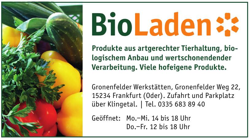 BioLaden Gronenfelder Werkstätten