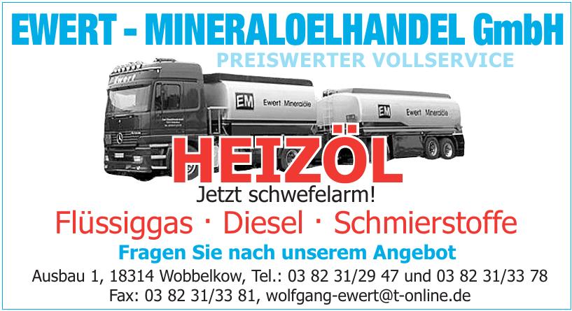 Ewert - Mineraloelhandel GmbH