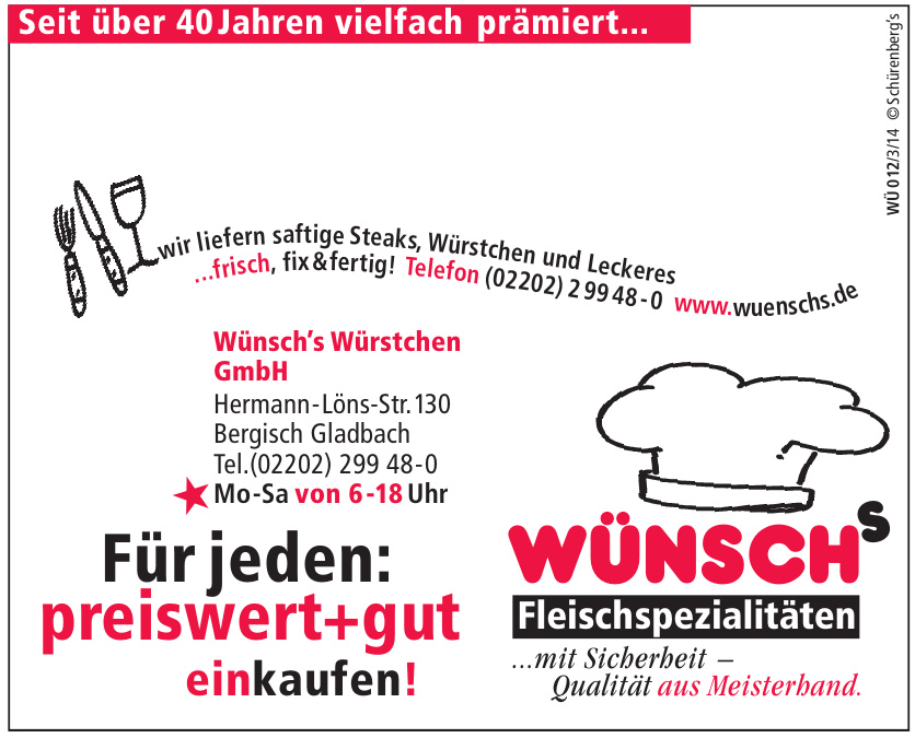 Wünsch's Würstchen GmbH