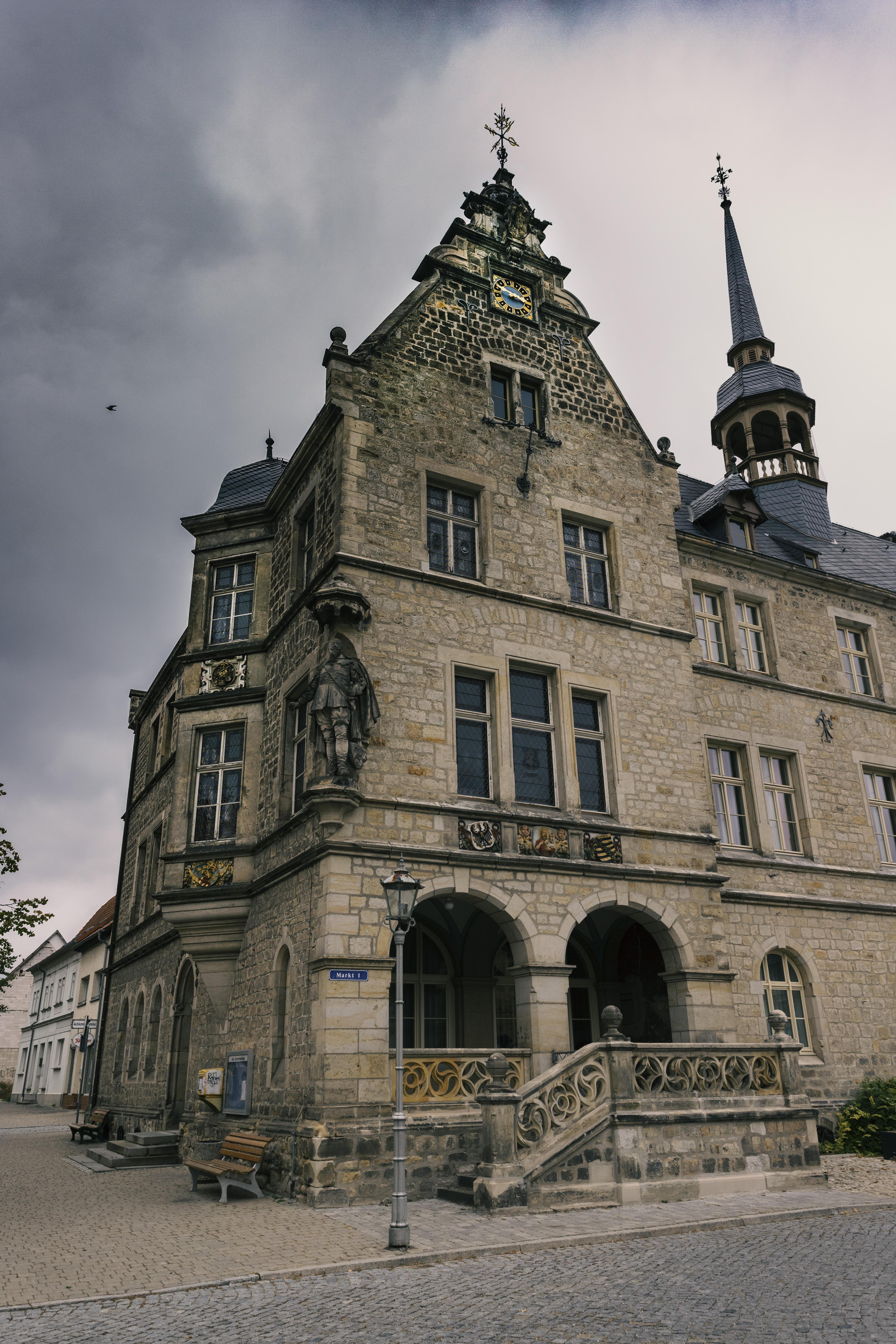 Das Rathaus in Lützen FOTO: WEBROGRAFIE