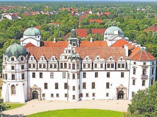 Eine Attraktion der Stadt: das Celler Schloss.