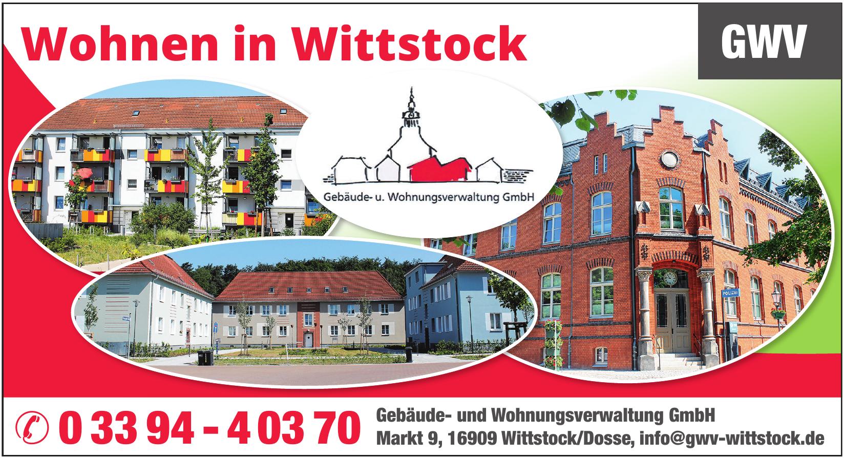 GWV Gebäude- und Wohnungsverwaltung GmbH