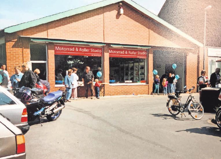 1996 gründete Ehepaar Hische das Unternehmen, damals im Stadtzentrum von Springe.