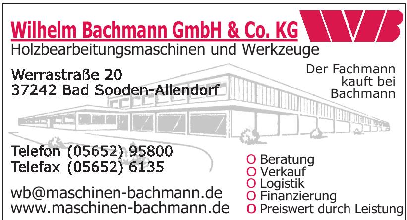 Wilhelm Bachmann GmbH & Co. KG
