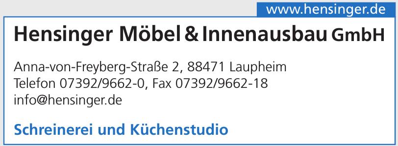 Hensinger Möbel&Innenausbau GmbH
