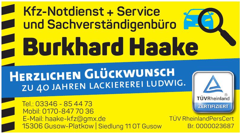 Burkhard Haake