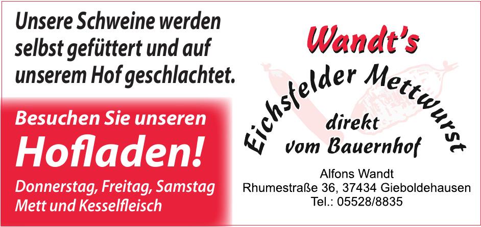 Wandt's Eichsfelder Mettwurst