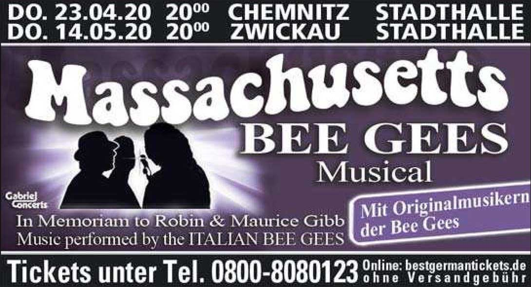 Massachusetts Bee Gees Musical