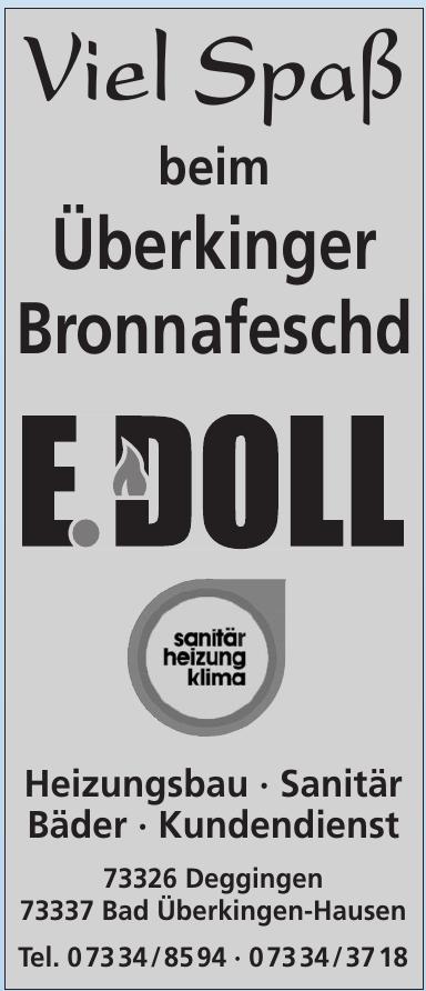 E. Doll