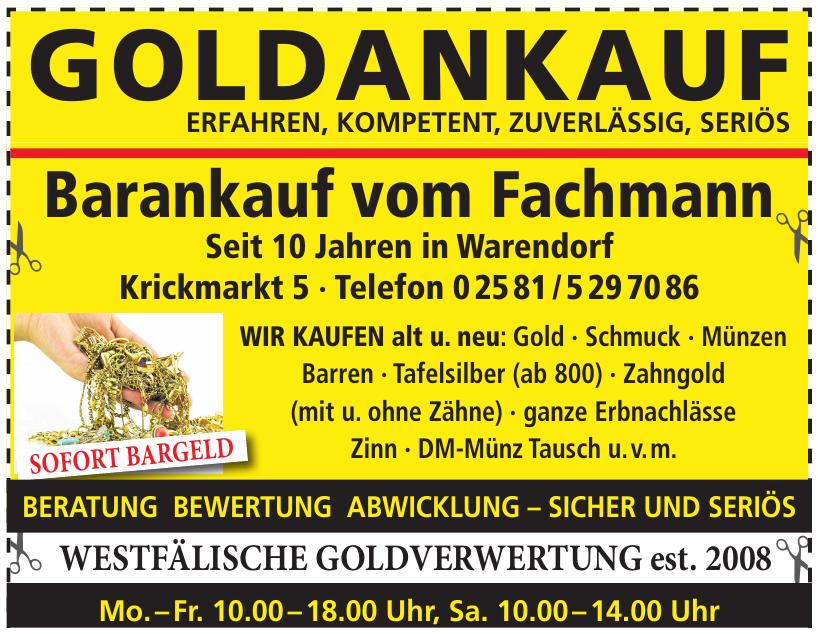 Westfälische Goldverwertung