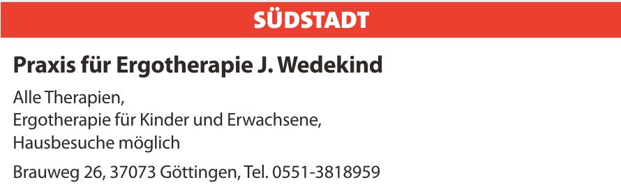 Praxis für Ergotherapie J. Wedekind