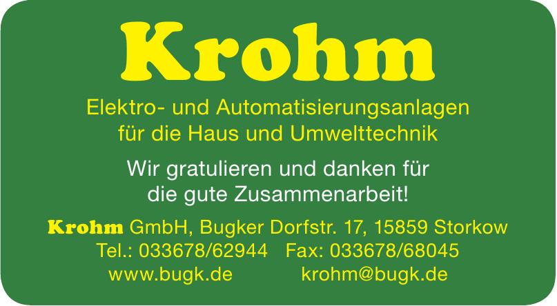 Krohm GmbH