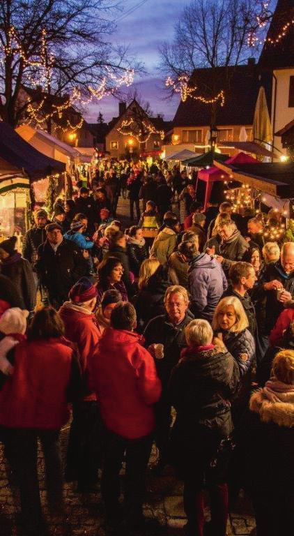 Weihnachtsmarkt Langenau