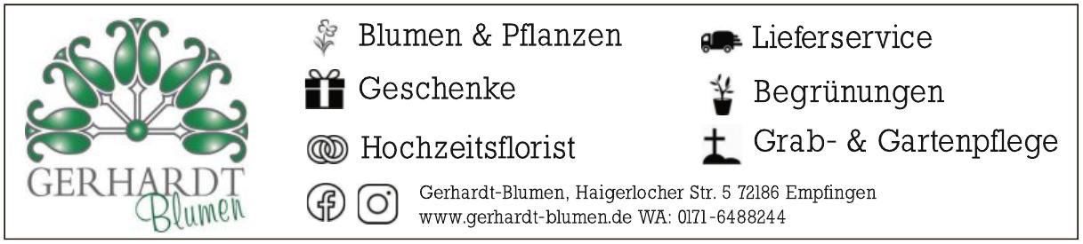Gerhardt Blumen