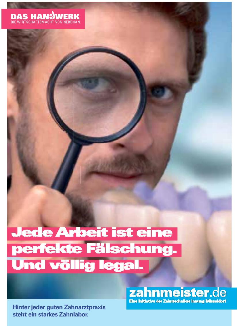 zahnmeister.de Eine Initiative der Zahntechniker Innung Düsseldorf