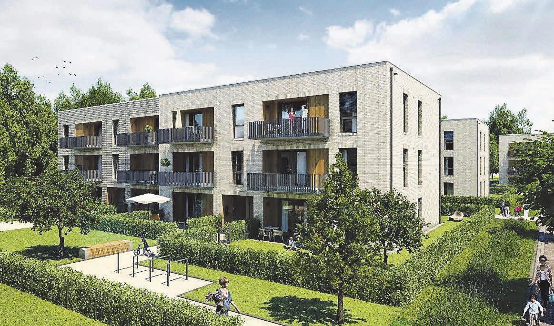 Die ersten Eigentumswohnungen im Projekt Herzkamp in Hannover-Bothfeld sind bereits im Verkauf.