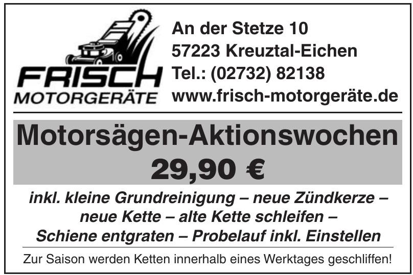 Frisch Motorgeräte