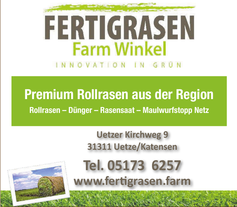 Fertigrasen - Farm Winkel - KG