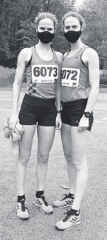 Die Berliner Zwillingsschwestern Deborah und Rabea Schöneborn laufen so schnell wie nie