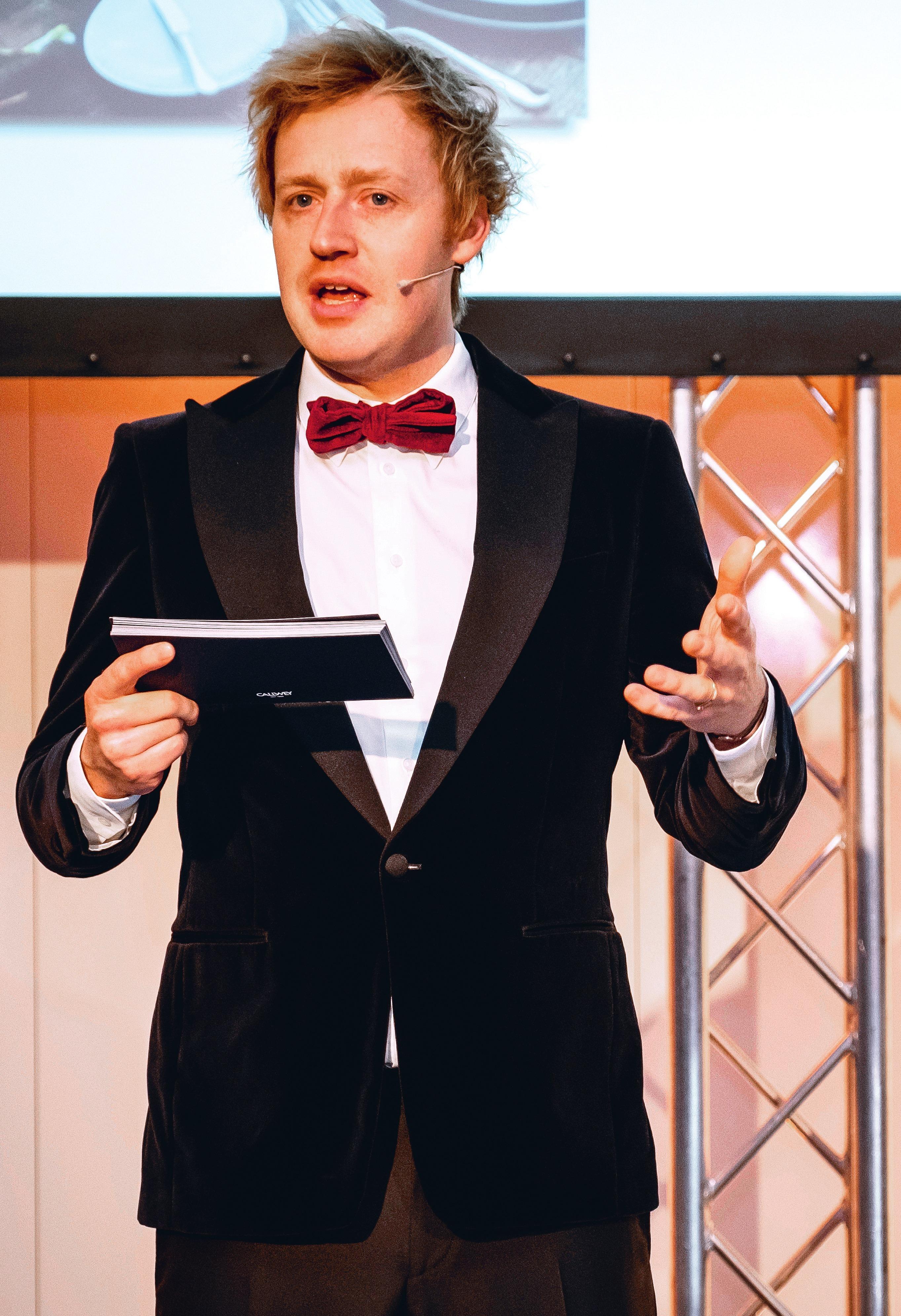 Moderator Björn Kroner-Salié.