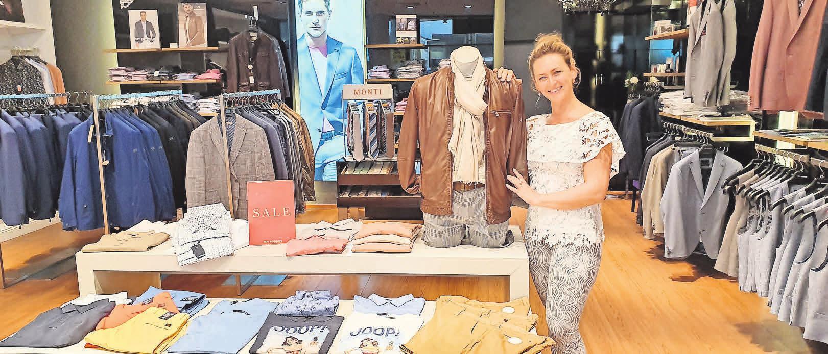 Treff- und stilsicher mit Julia Stiebens Beratung bei Leonardo Men Style.