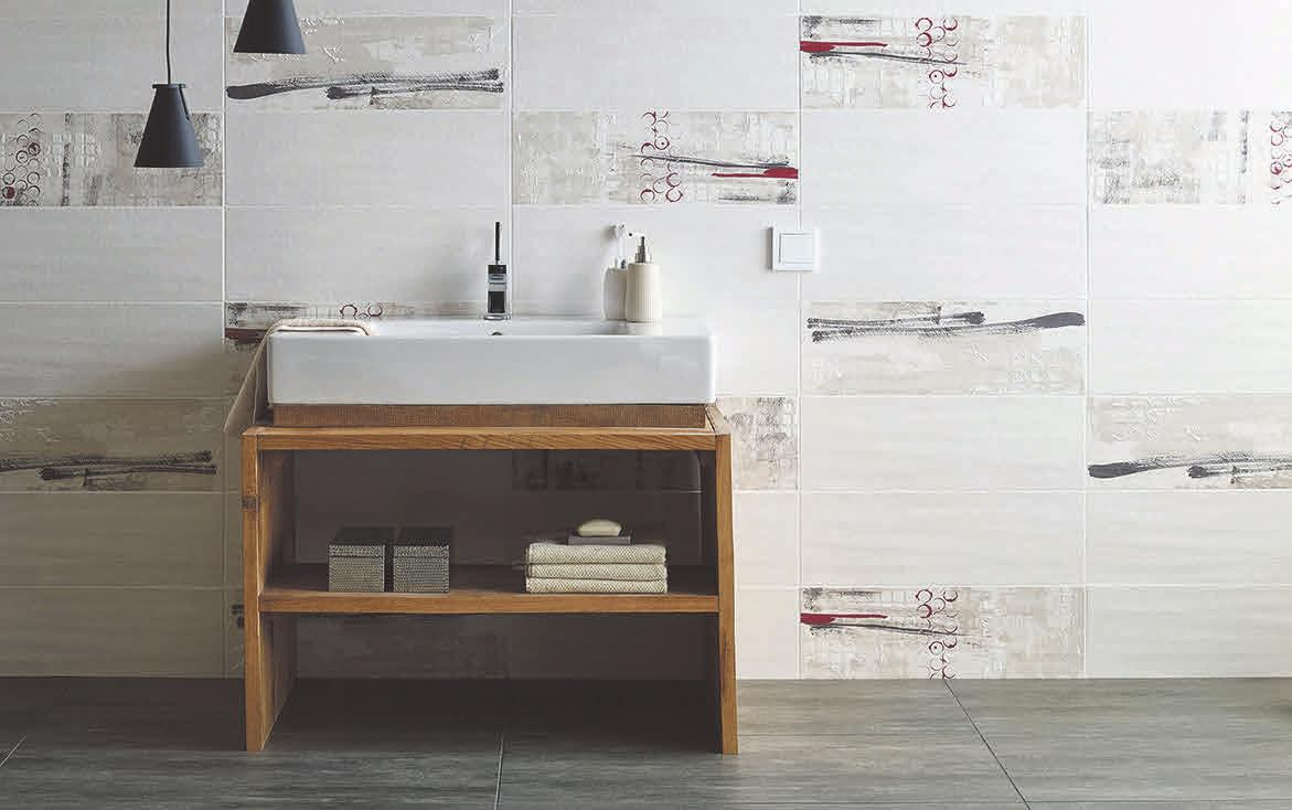 Keramische Wandbeläge bringen Stil in die Räume.