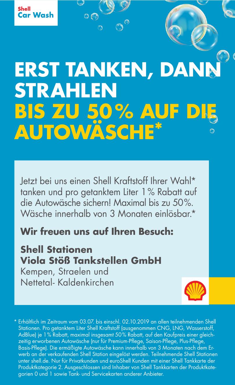 Shell Stationen Viola Stöß Tankstellen GmbH
