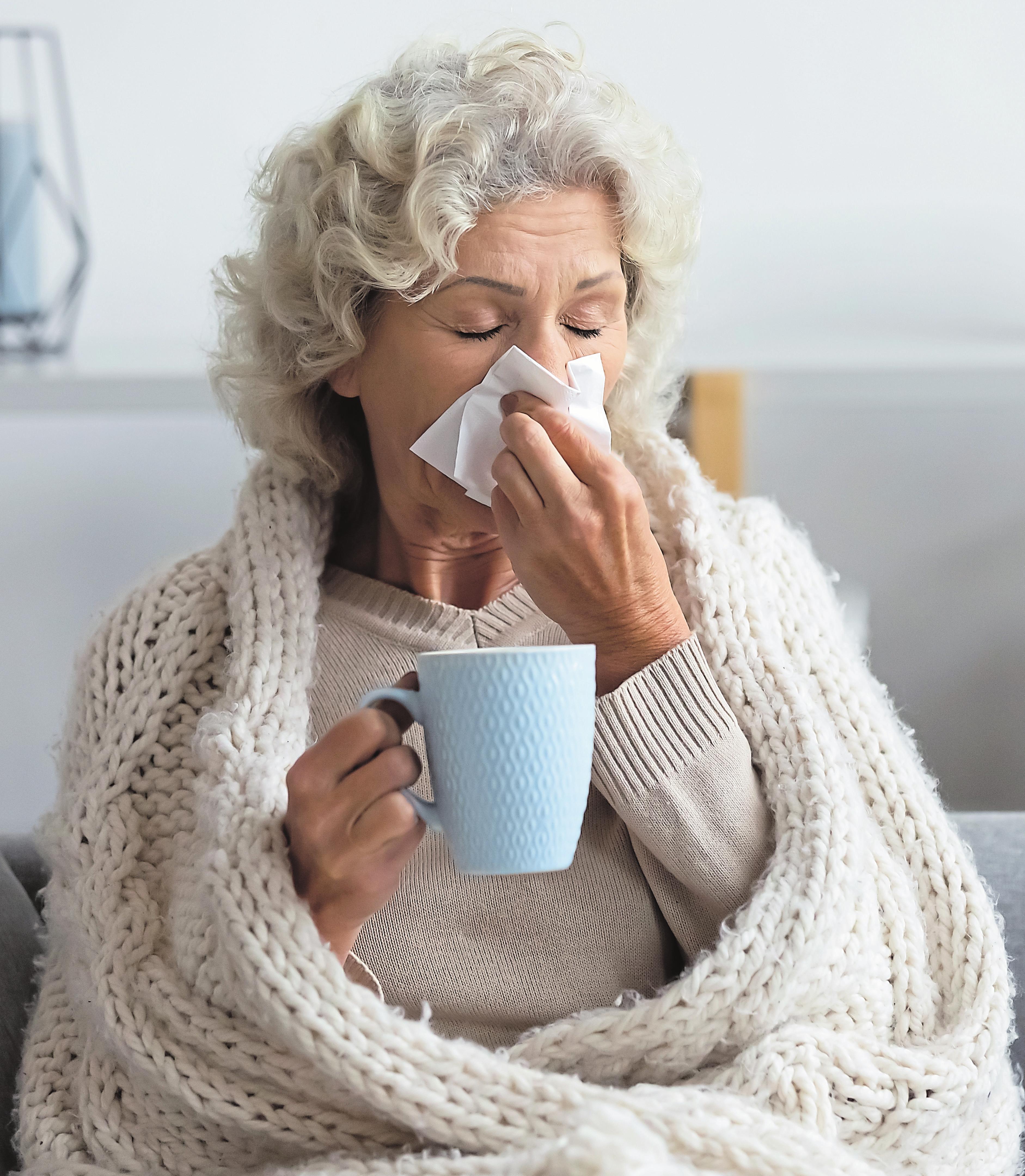 Wappnen Sie sich gegen die Wintererkältung. Foto: Shutterstock