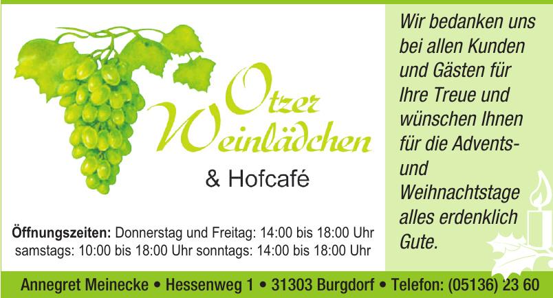 Otzer Weinlädchen & Hofcafé