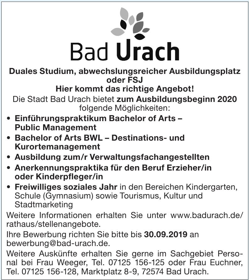 Stadt Bad Urach