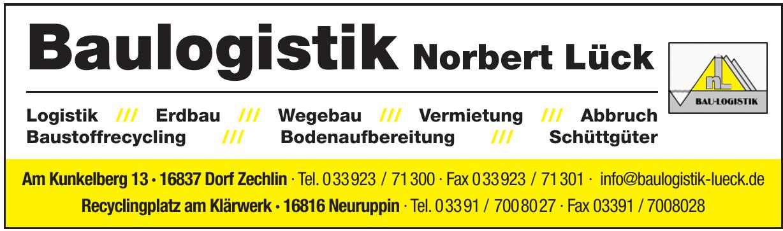 Baulogistik Norbert Lück