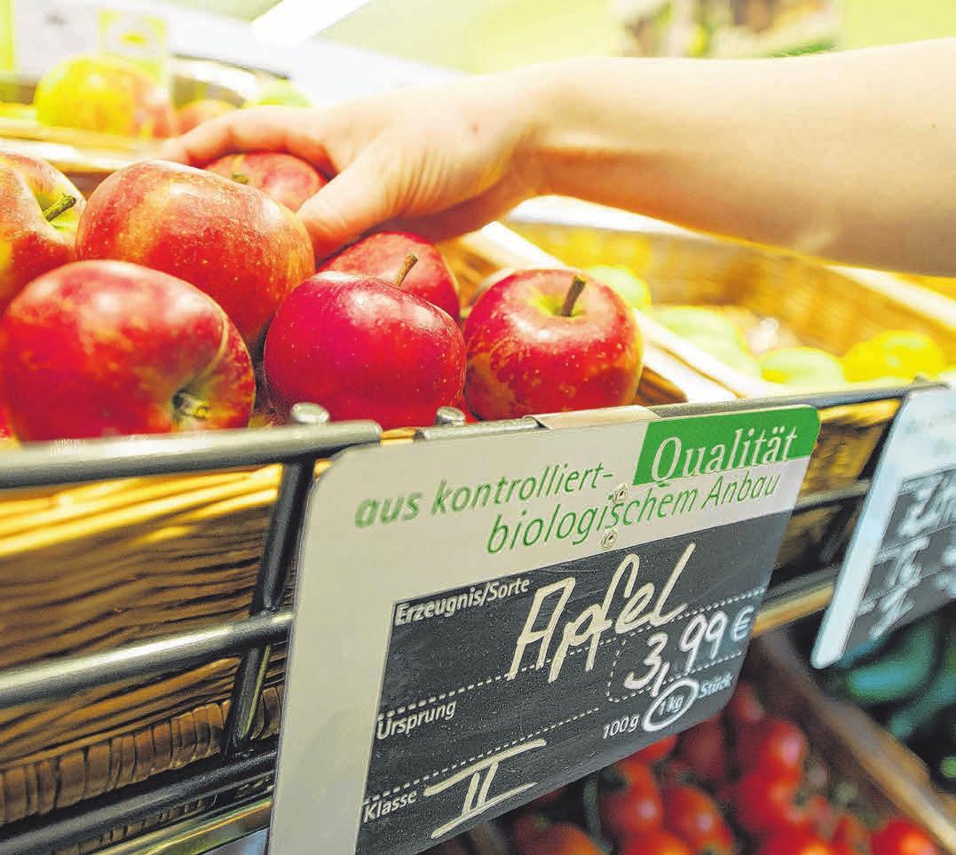 Äpfel, aber auch andere Obstsorten und Gemüse sind für eine gesunde Darmflora essenziell wichtig. Foto: Inga Kjer