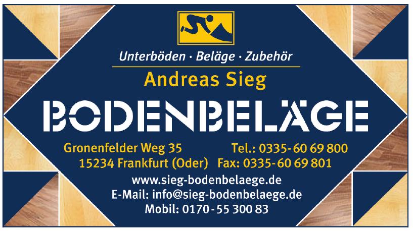 Andreas Sieg Bodenbeläge