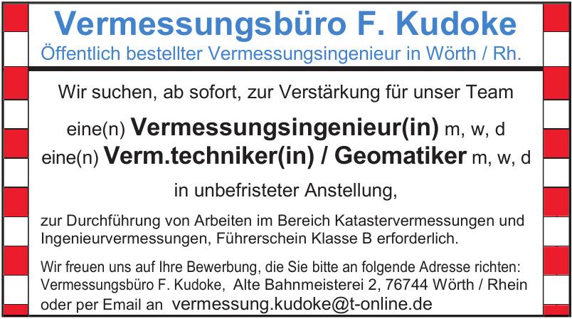 Vermessungsbüro F. Kudoke