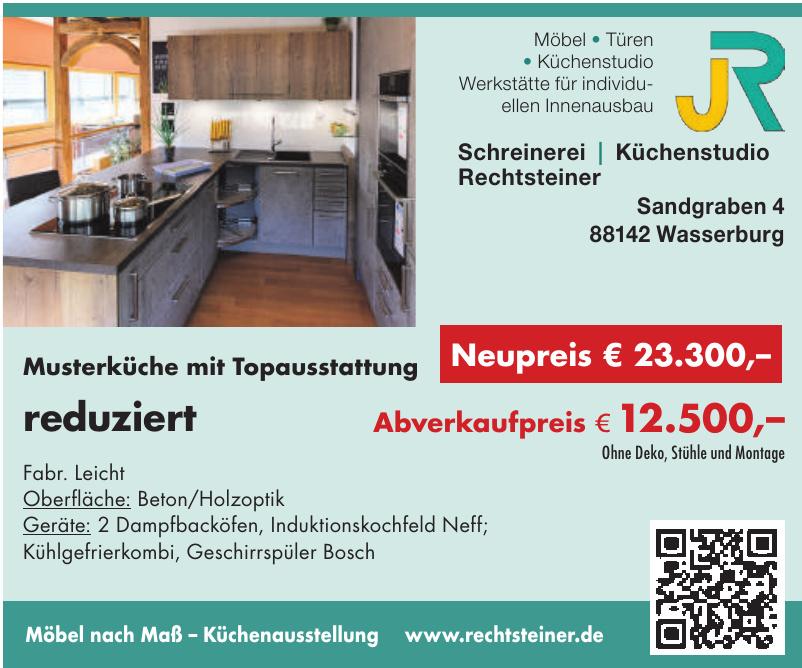 JR Schreinerei - Küchenstudio Rechtsteiner