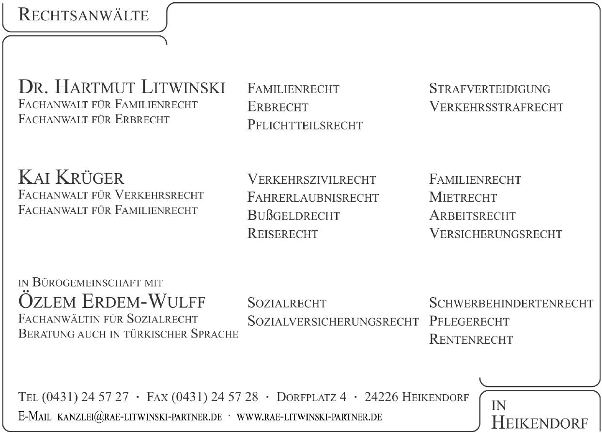 Rechtsanwälte Litwinski & Parner