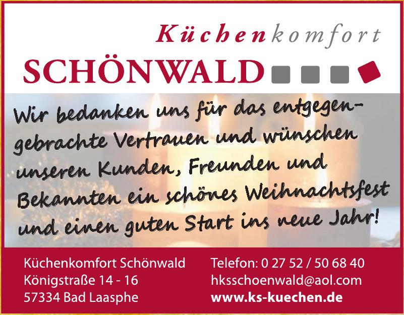 Küchenkomfort Schönwald